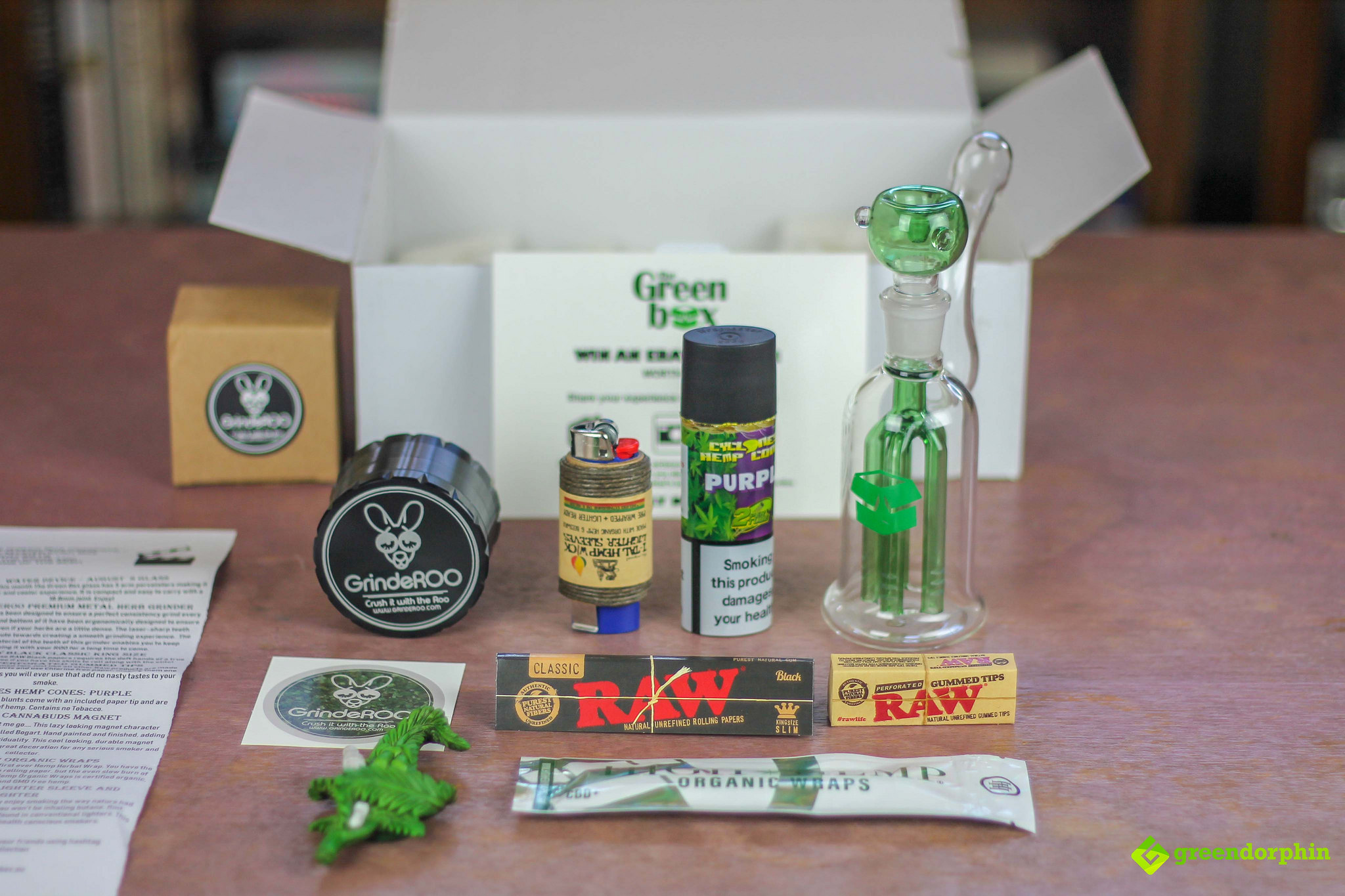 Weed Subscription Box Full Kit