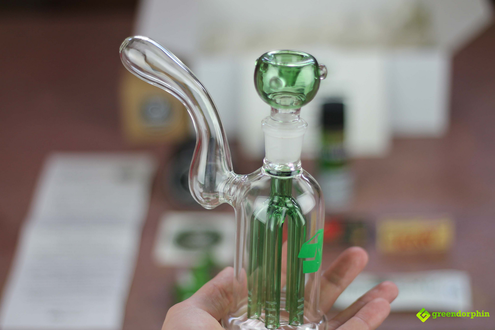 Weed Subscription Box Glass Piece