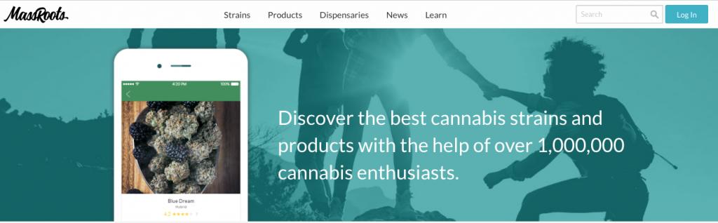 MassRoots website