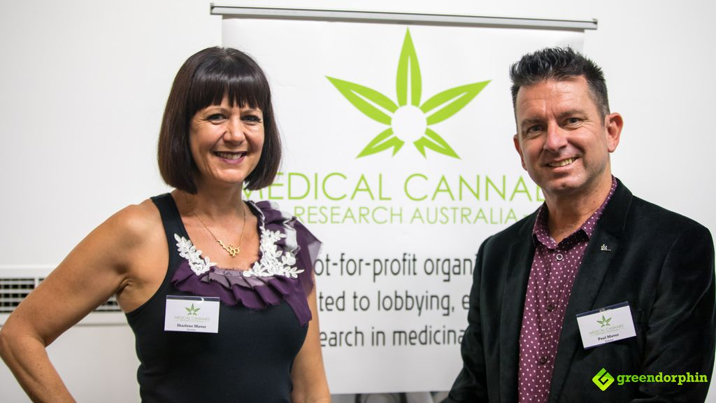 Paul and Sharlene Mavor MCRA (Medical Cannabis Research Australia) symposium for health professionals