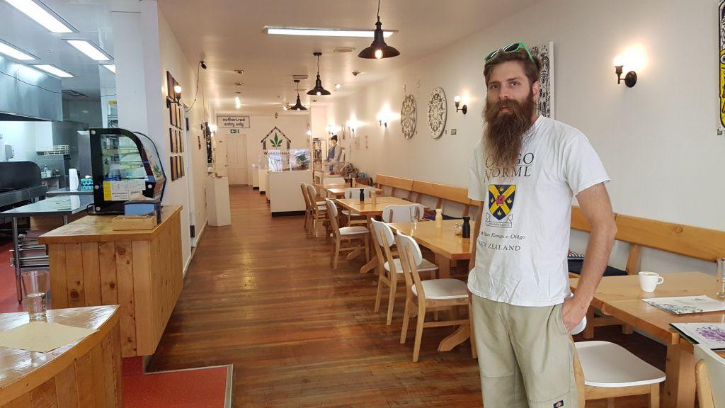 Abe Gray - Dunedin Cannabis Museum (eatery)