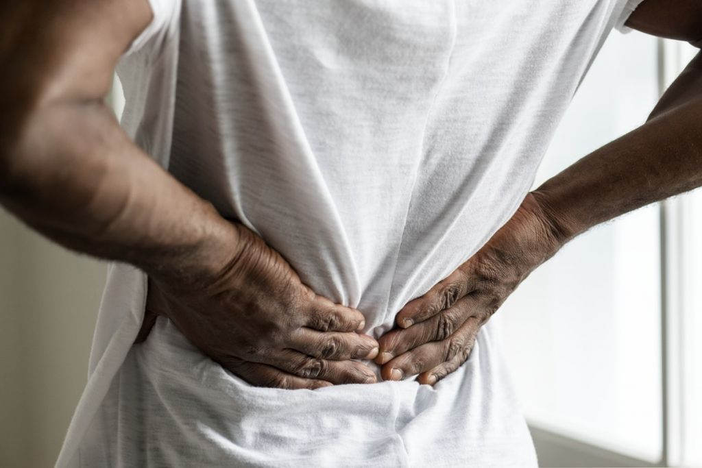 back pain - CBD oil for pain management