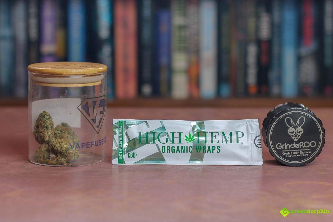 High Hemp Organic Wraps Review CBD+ [VIDEO]