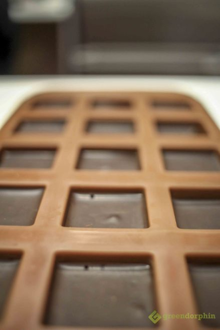 Cannabis Chocolate bars in mould is better than smoking marijuana