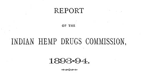 Indian Hemp Drugs Commission Report