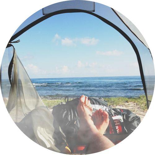 weed and camping