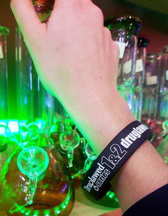 Druglawed USB Wristband
