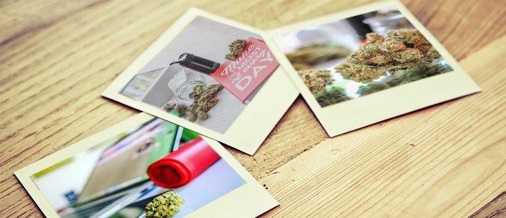 cannabis selfies culture