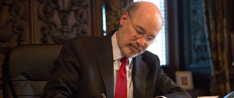 J.J. Abbott, the spokesperson of Gov. Wolf