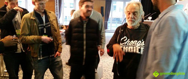 Tommy Chong in the International Cannabis Business Conference