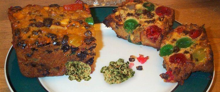 Cannabis Fruitcake