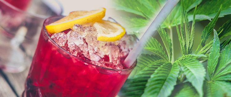 Cannabis-Infused Drinks - CBD-infused drinks