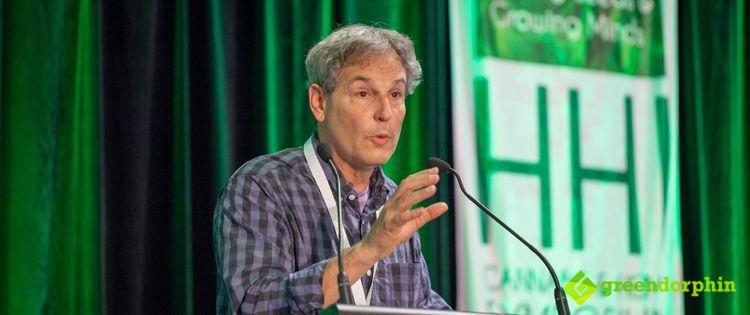 Martin Lee at the Hemp Health Innovation Expo in Sydney