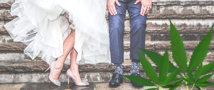 cannabis wedding
