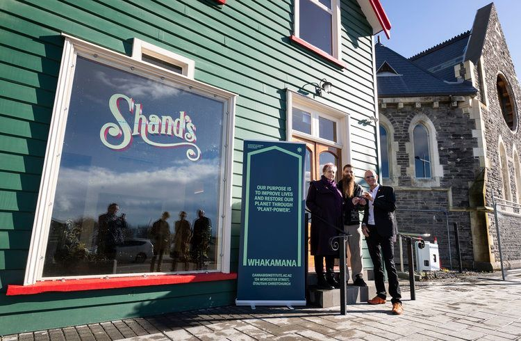 Cannabis Museum Christchurch with founders