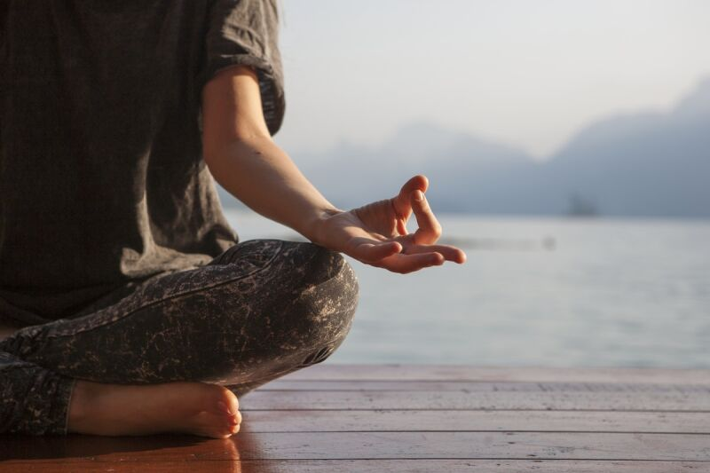 Cannabis for Stress - CBD and meditation