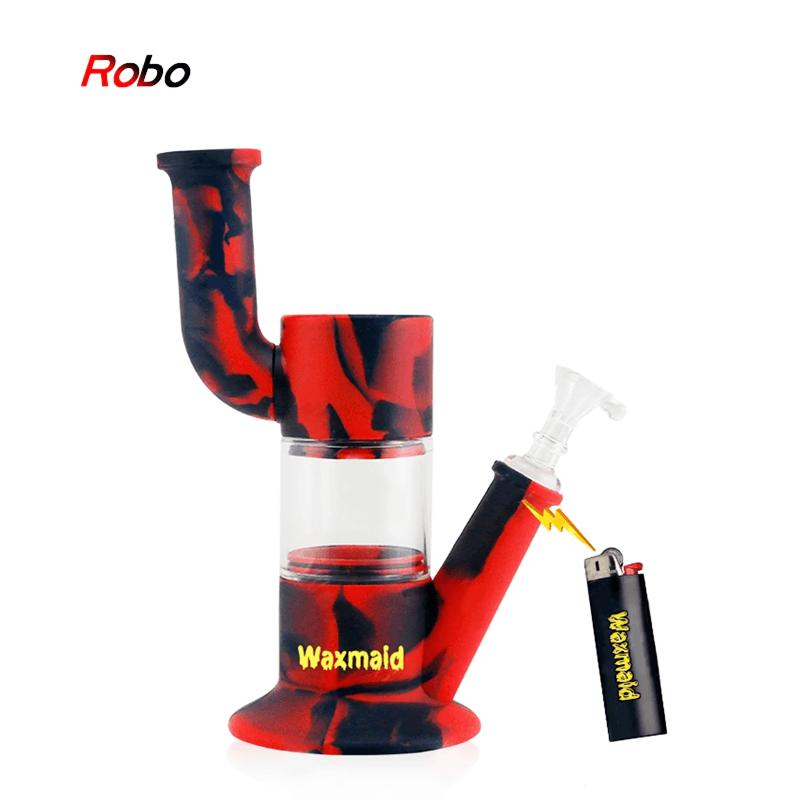 Waxmaid Robosiliconeglass Water Pipe